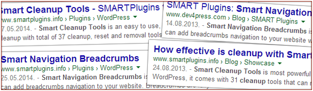 Google Rich Snippets support for Breadcrumbs
